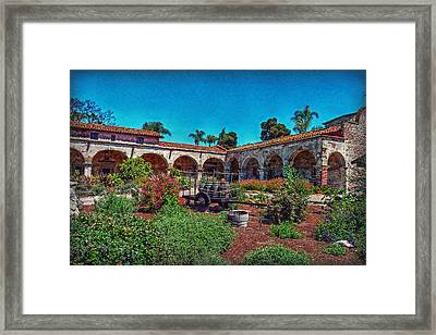 The Mission Framed Print by Hanny Heim