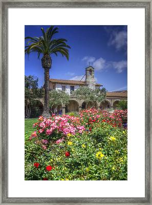 The Mission Framed Print by Joan Carroll