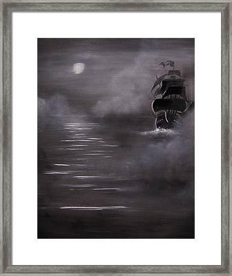 The Mist Framed Print by Eugene Budden