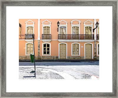 The Mistress' House - Solar Da Marquesa De Santos Framed Print by Julie Niemela