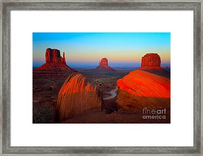 The Mittens Framed Print by Inge Johnsson