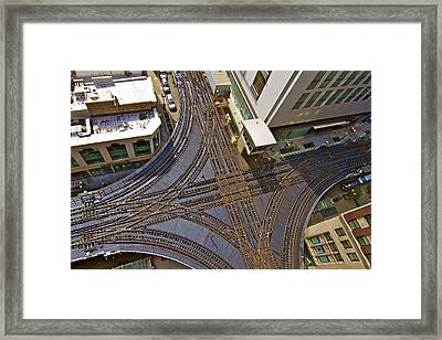 The Mixmaster Framed Print by John Babis