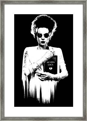 The Modern Bride B Framed Print by Filippo B