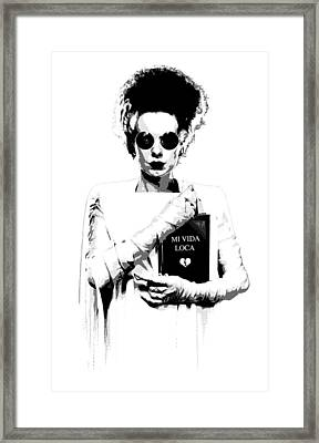 The Modern Bride Framed Print by Filippo B