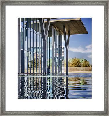 The Modern Framed Print by Joan Carroll