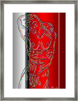 The Modern Man 3 Framed Print by Mark Ashkenazi