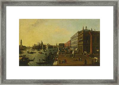 The Molo Venice Framed Print by Celestial Images