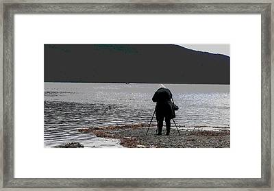 The Moment Framed Print by Maria Joy