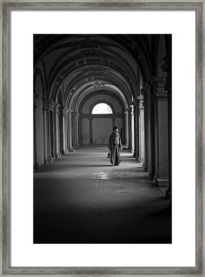 The Monk Framed Print by Nelson Rodrigues da Costa