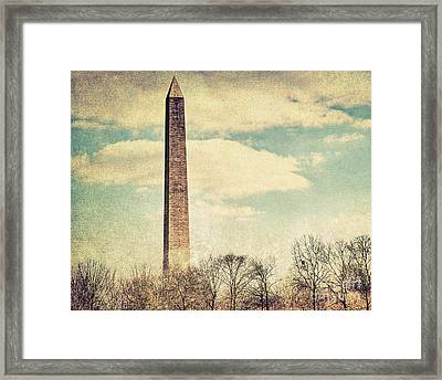 The Monumnet Framed Print by Emily Kay
