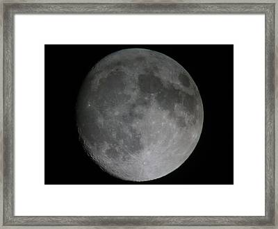 The Moon  Framed Print by George Leask