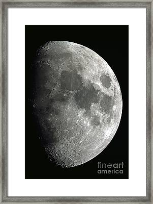 The Moon Framed Print by John Chumack