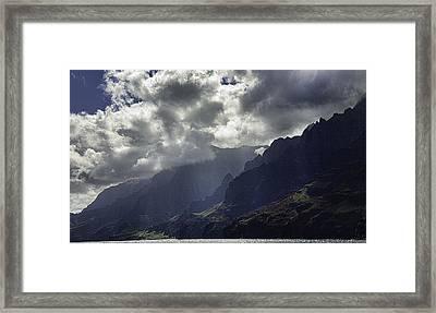 The Morning Light Framed Print by Joanna Madloch