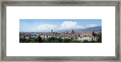 The Most Beautiful City In The World Framed Print by Harold Shull