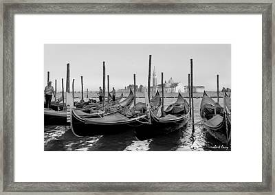 The Most Photographed View In The World Framed Print by Robert Lacy