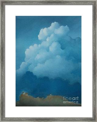 The Mound Framed Print by Cynthia Vaught