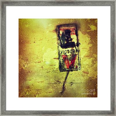 The Mousetrap Framed Print by Amy Cicconi