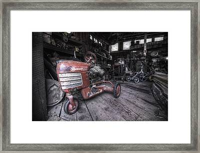 The Murray Trac Framed Print by Sean Foster