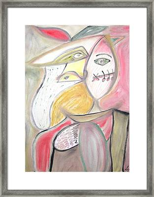 The Musician And The Muse Framed Print by Csongor Licskai