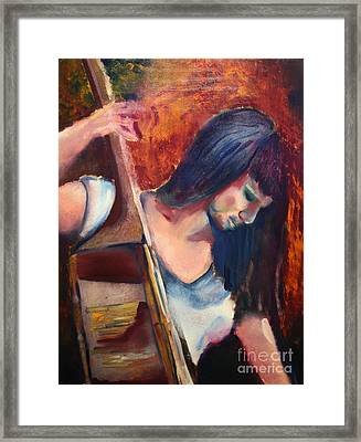 The Musician Framed Print by Michael Kulick