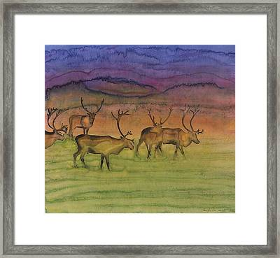 The Mystery Of Migration Framed Print by Carolyn Doe