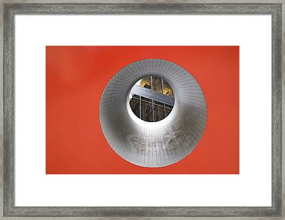 The Narrow Perspective Framed Print by Joanna Madloch