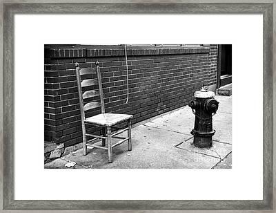 The Neighborhood Framed Print by John Rizzuto