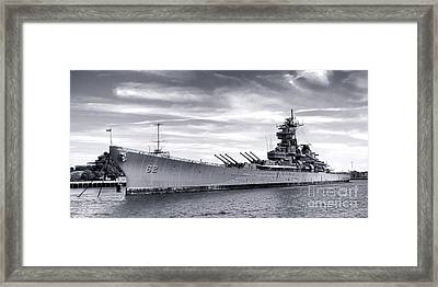 The New Jersey Framed Print by Olivier Le Queinec