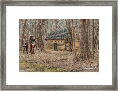 The New Neighbors Framed Print by Randy Steele