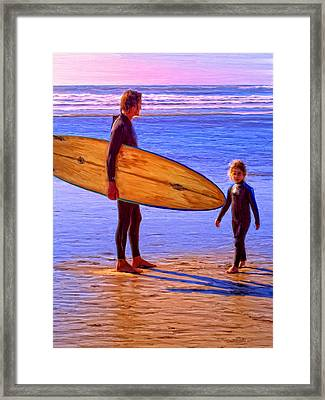 The Next Generation Framed Print by Dominic Piperata