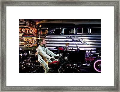The Nifty Fifties Framed Print by Bill Cannon