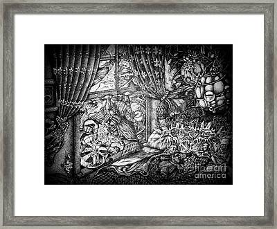 The Night Before Christmas Part Two Framed Print by Frankie  Caron
