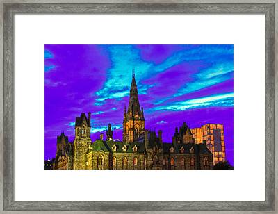 The Night Of The Thousand Spells Framed Print by Eti Reid