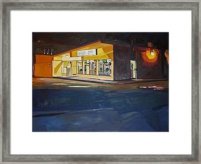 The Night Wash Framed Print by Deb Putnam
