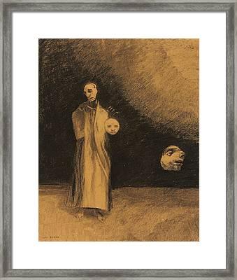 The Nightmare Framed Print by Odilon Redon