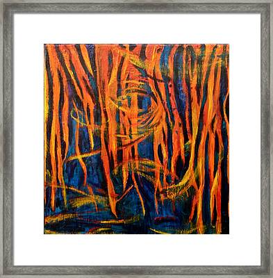 The Nightmare Of Ms Framed Print by Ruth Edward Anderson