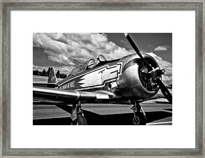 The North American T-6 Texan Framed Print by David Patterson