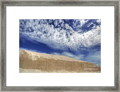 The North Face Framed Print by English Landscapes