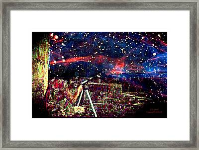 The Observer Framed Print by Larry Lamb
