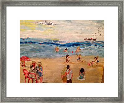 The Observers Framed Print by Maria Vassiliadou