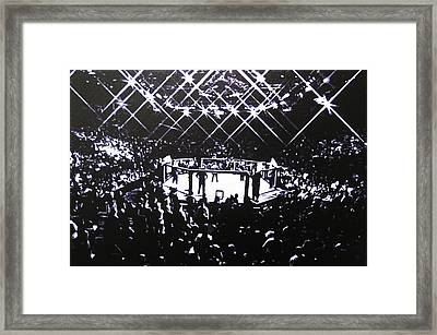 The Octagon Framed Print by Geo Thomson
