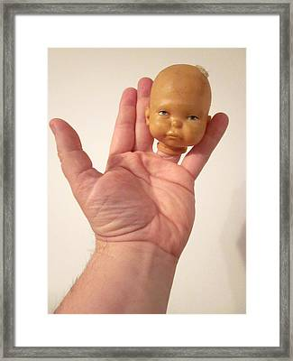 The Odd Body Of George Pugsley Stuart Jr Framed Print by Guy Ricketts
