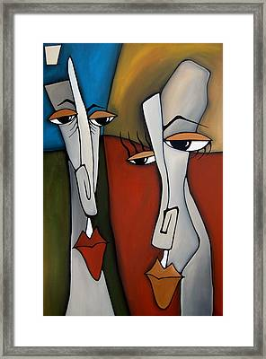 The Odd Couple By Fidostudio Framed Print by Tom Fedro - Fidostudio