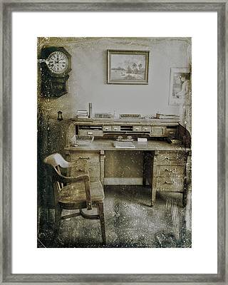 The Office  Framed Print by JC Photography and Art