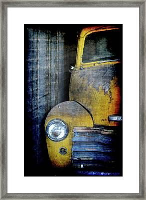 The Ol Chevy Framed Print by Ernie Echols