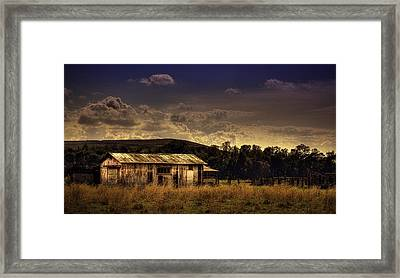 The Old Barn Framed Print by Marvin Spates