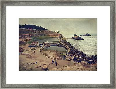 The Old Bath House Framed Print by Laurie Search