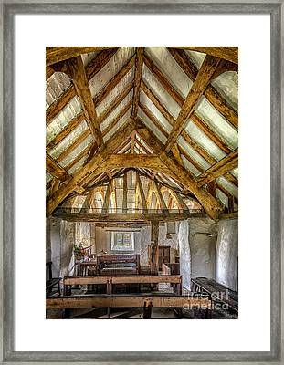 The Old Church Framed Print by Adrian Evans