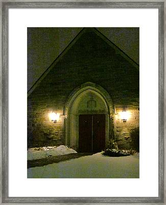 The Old Church Framed Print by Guy Ricketts