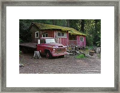 The Old Couple Of Hales Grove Framed Print by Christine Till